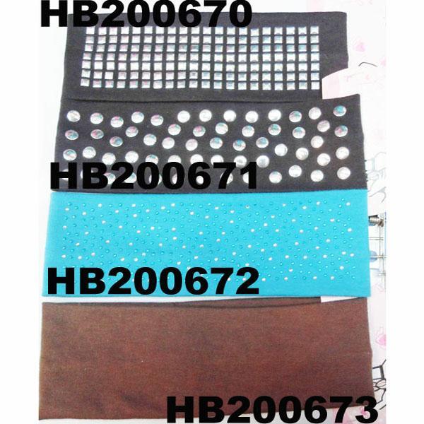 fashion milk silk fabric stretch hair band wholesale 7