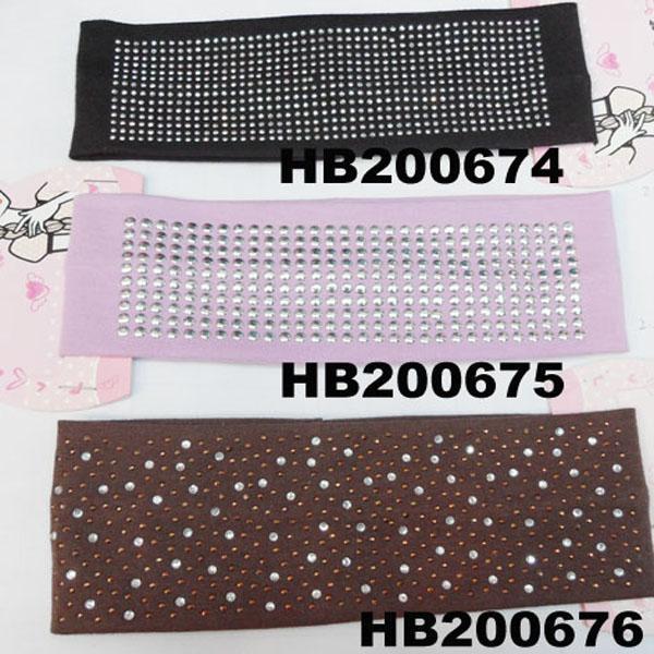 fashion milk silk fabric stretch hair band wholesale 8