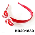 cute girls kids butterfly flower foldable folding plastic headband wholesale 3