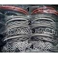 women ladies girls clear crystal stone plastic headband wholesale 3
