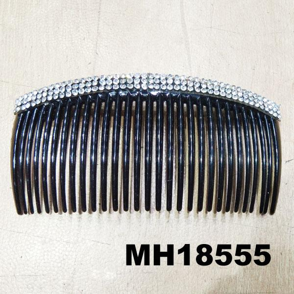 women ladies crystal stone flower plastic hair combs wholesale 8