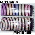 fashion women 6 rows crystal rhinestone plastic hair combs wholesale 4