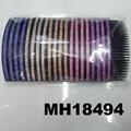 fashion women 6 rows crystal rhinestone plastic hair combs wholesale 14
