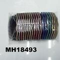 fashion women 6 rows crystal rhinestone plastic hair combs wholesale 15
