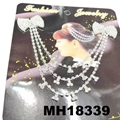wedding bridal crystal stone double snowflake butterfly flower metal hair comb 2