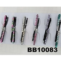 women girls antique crystal stone flower metal hair pin wholesale 6