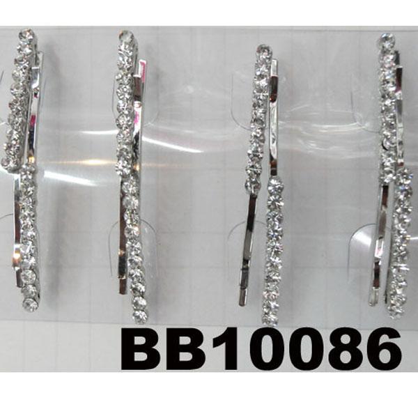 women girls antique crystal stone flower metal hair pin wholesale 7