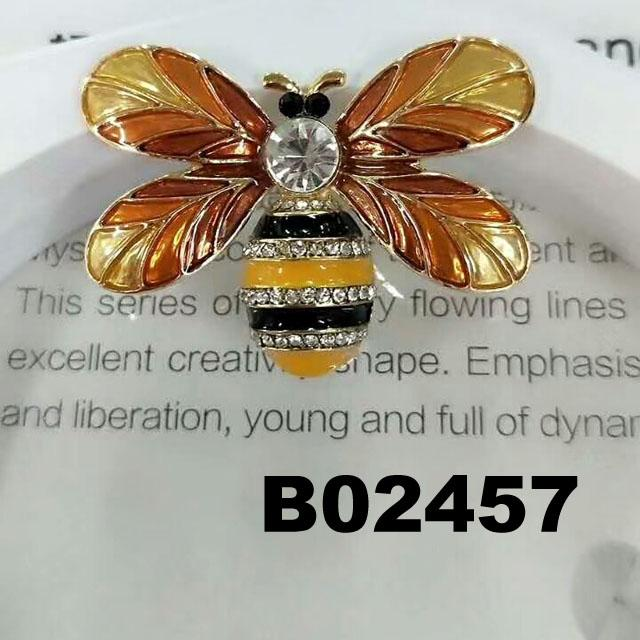 fashion crystal stone wasp bee insect brooch 6