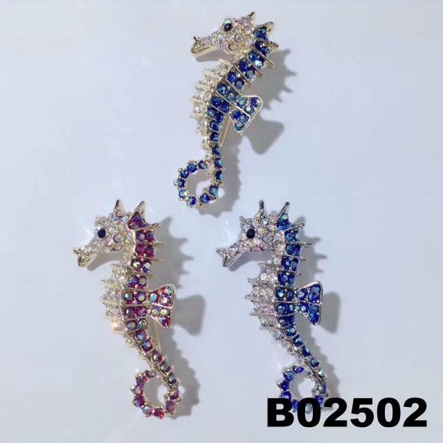 fashion korean crystal stone flamingo brooch pins wholesale 4