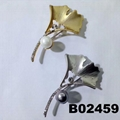 wholesale fashion women girls crystal stone rose flower brooch ouch 10