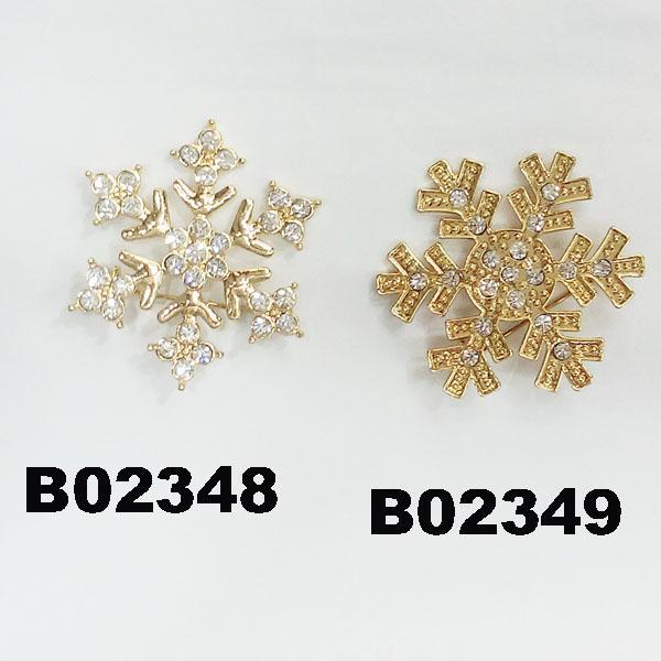 wholesale crystal stone christmas tree christmas brooches 5