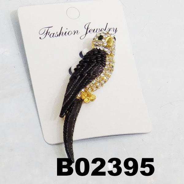 fashion mens women crystal stone animal owl brooch 5