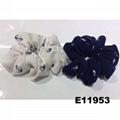 women girls print cloth fabric elastic hair bands wholesale 4