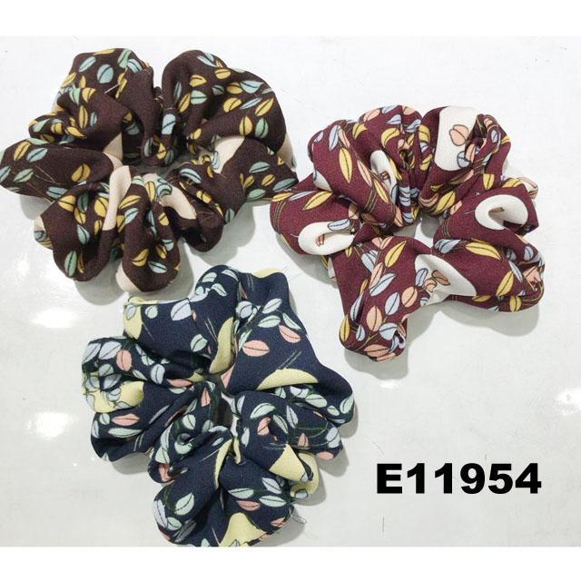 women girls print cloth fabric elastic hair bands wholesale 5