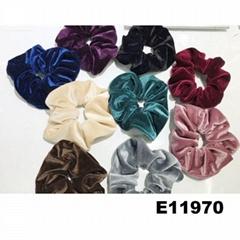 women girls ve  et hair ties wholesale