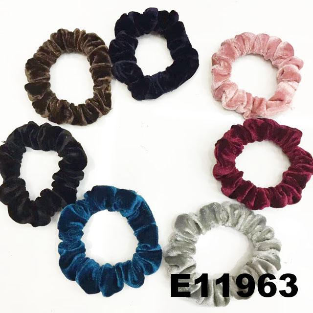 women girls ve  et hair ties wholesale 3