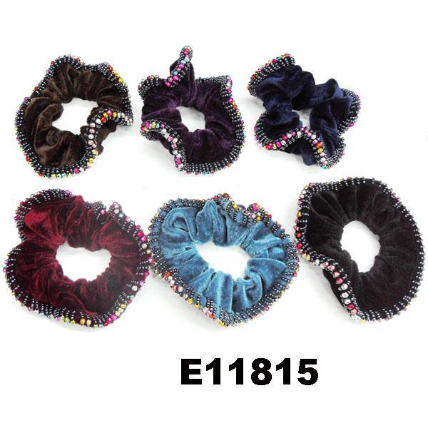 women girls ve  et hair ties wholesale 4