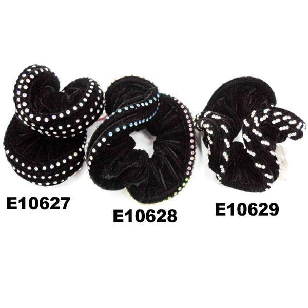 fashion women crystal stone ve  et hair bands wholesale 3