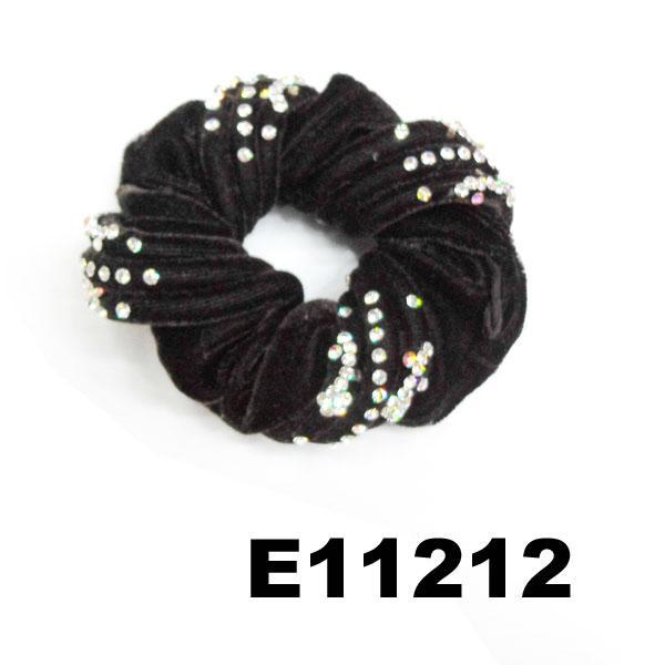 fashion women crystal stone ve  et hair bands wholesale 7
