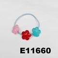 baby girls kids plastic crystal ball elastic hair ties wholesale 2