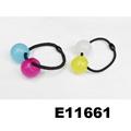 baby girls kids plastic crystal ball elastic hair ties wholesale 3