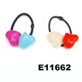 baby girls kids plastic crystal ball elastic hair ties wholesale 4