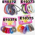 daily use silicon rubber elastic hair bands wholesale 2