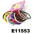 daily use silicon rubber elastic hair bands wholesale 4