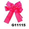 school girls kids big beautiful print hair ribbon bow 4
