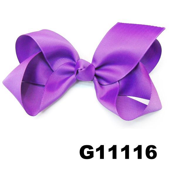 school girls kids big beautiful print hair ribbon bow 6