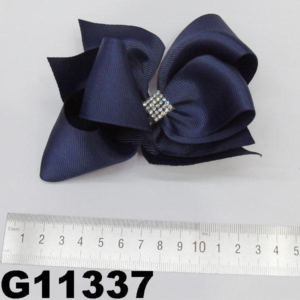 school girls kids big beautiful print hair ribbon bow 10