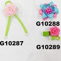 cheap wholesale mini small ribbon hair bows 2