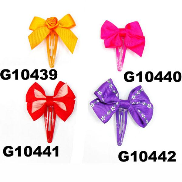 cheap wholesale mini small ribbon hair bows 8