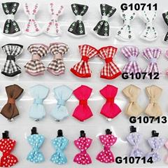 cheap wholesale mini small ribbon hair bows