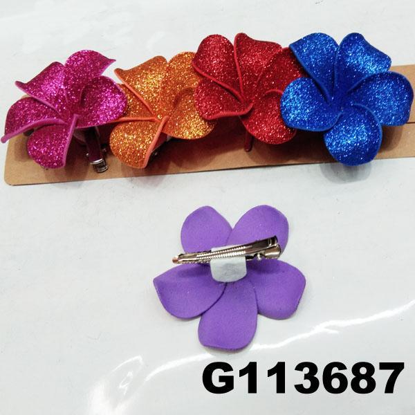 wedding bridal women hair flower hair clips 5