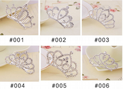 kids baby girls small crystal tiaras crowns wholesale