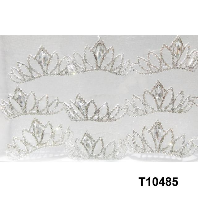 kids baby girls small glitter colorful crystal tiaras crowns wholesale 6
