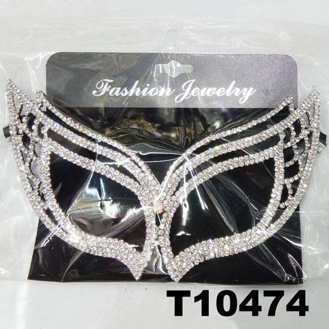 glitter crystal rhinestone stone face mask wholesale 2