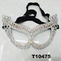 glitter crystal rhinestone stone face mask wholesale 3