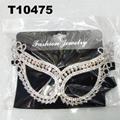 glitter crystal rhinestone stone face mask wholesale 4