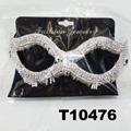 glitter crystal rhinestone stone face mask wholesale 5