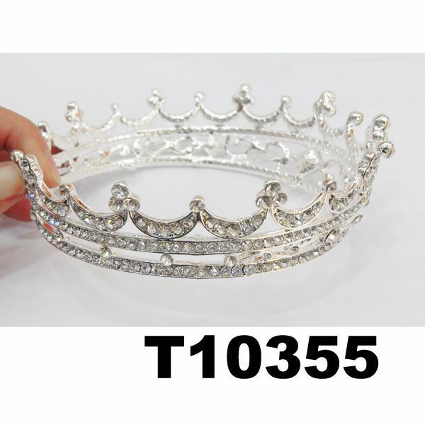 crystal stone moon boat round princess king crown 1