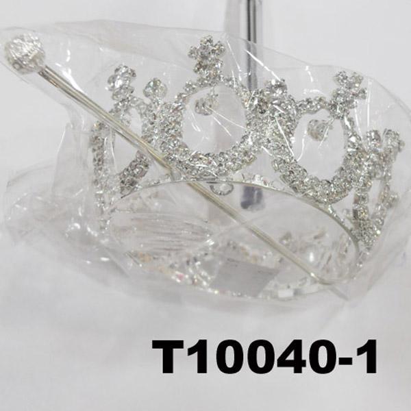 crystal stone moon boat round princess king crown 4