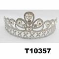 crystal stone moon boat round princess king crown 5