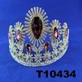 crystal stone moon boat round princess king crown 7