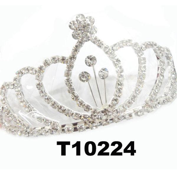 fashion glitter adult big crystal stone beauty pageant tiaras 4