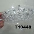 fashion glitter adult big crystal stone beauty pageant tiaras 5