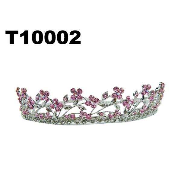 fashion shining adult big crystal stone round beauty pageant tiaras crowns 3