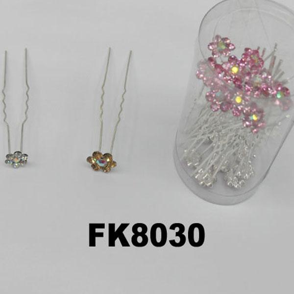 wholesale bridal wedding crystal stone flower hair pins 1