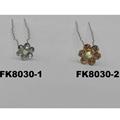 wholesale bridal wedding crystal stone flower hair pins 2